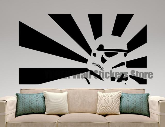 Stormtrooper Autocollant Murale Star Wars Film Décalque Design Art ...