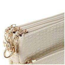 DCOS вычисляется Femininas небольшая сумка крокодил картина мешок для Для женщин сумки через плечо клатчем