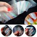 6 UNIDS Decoraciones para Uñas Broken Glass Nail Foil Wraps Polaco Nailart 3D Diseño de Uñas Hoja Transferencia Pegatinas para Las Uñas ZJ1107