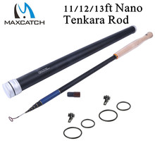 Maxcatch New Design NANO Traveller Tenkara Fly Fishing Rod Nano Japanese Toray Carbon(IM12) 3.6M 7:3 Action Tankara Fly Rod
