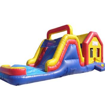 Wyposażenie placów zabaw dla dzieci w wielki skok dom ze zjeżdżalnią tanie i dobre opinie NoEnName_Null Kryty plac zabaw dla dzieci 3 lat XZ-BC-013 Nadmuchiwany plac zabaw dla dzieci Duża trampolina Entertainment Amusement Park