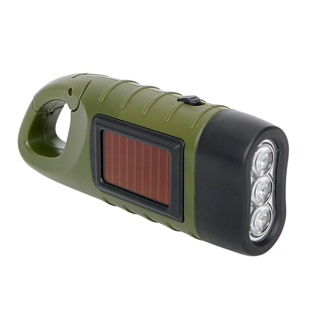 Tragbare solarenergie taschenlampe laterne für outdoor camping bergsteigen zelt licht handkurbel dynamo led taschenlampe professionelle