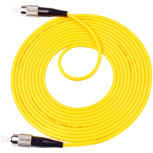 10PCS/bag FC/ UPC-FC/ UPC Simplex mode fiber optic patch cord Cable 2.0mm or 3.0mm FTTH jumper cable free shipping