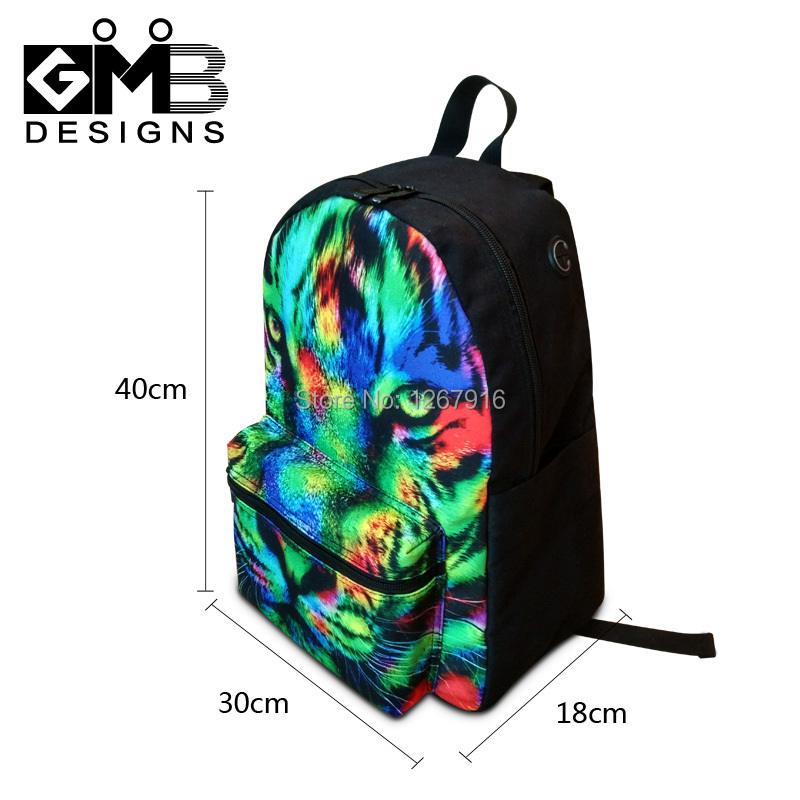 Dog Print School Backpacks For College Boys Cute Mochila Personalized Bookbags S Laptop Computer Back Pack Women In From Luggage