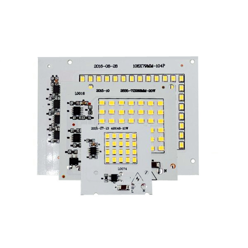 10w/20w/30w/50w LED COB Floodlight PANEL MODULE SMD2835 AC220V LED Lamp White 6000-6500k Free Shipping 10PCS