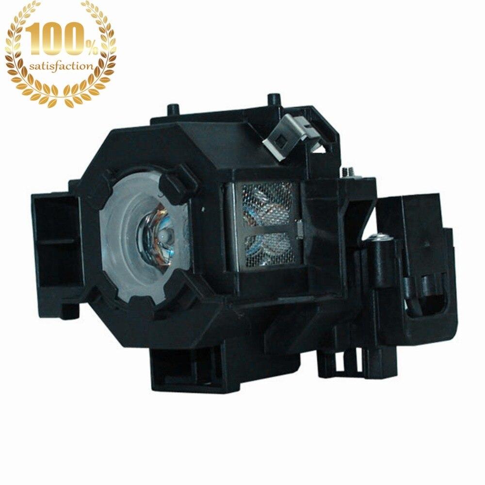 WoProlight ELPLP41 / V13H010L41 Vervangingslamp met behuizing Voor - Home audio en video - Foto 1