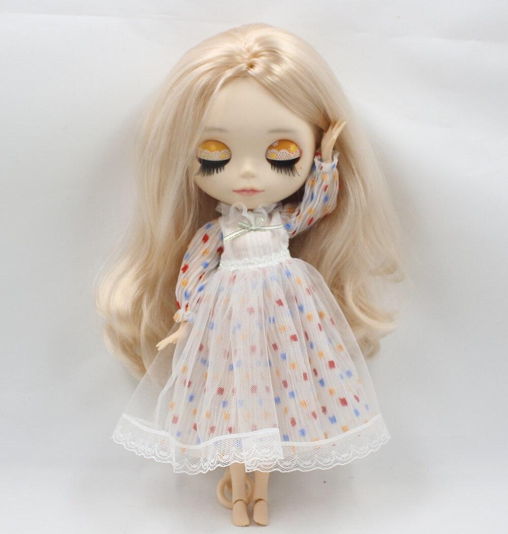 Neo Blythe Doll Beautiful Winter Dress