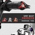 Spirit Beast 2pcs motorcycle handlebar Handle plug cool styling
