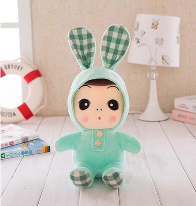 Staffed Cute Girl Cartoon Plush Toy Doll New Arrival Good Quanlity PPT Cotton Kid Gift Lover Gift Free Shipping A-33