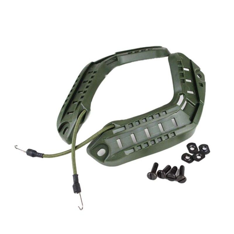 1 Set Helmet Side Rail Mount Guide Camera Holder Adapter Fast Helmets Outdoor Accessories Tools New