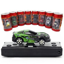Здесь можно купить   WLtoys 1:64 Coke Can Mini RC Car Racing Radio Remote Control Micro Racing Car  20KM/H 4 Frequencies Toys For Boys Christmas Remote Control