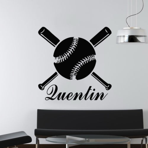 Compare Prices On Kids Baseball Decor Online ShoppingBuy Low - Custom vinyl wall decal equipment