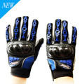 New Motorcycle Gloves Carbon Fibre Full Finger Breathable Wearable Cycling Protective Gloves Guantes Moto Luvas Moto Motorbike