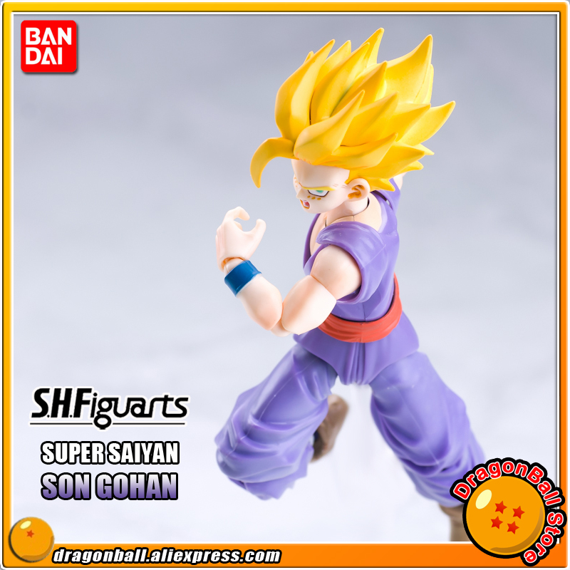 Sale  DRAGONBALL Dragon Ball Z Original BANDAI Tamashii Nations SHF/ S.H.Figuarts Action Figure - Super Saiyan Son Gohan cmt original bandai tamashii nations s h figuarts shf dragon ball db kid son gokou action figure anime figure pvc toys figure