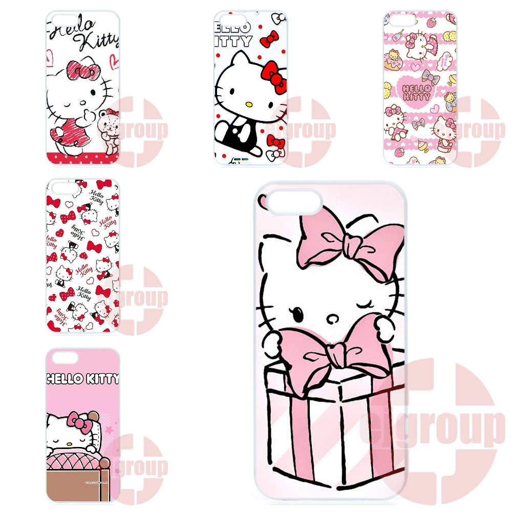 Cases Fundas Cute Hello Kitty My Melody Bow For Samsung