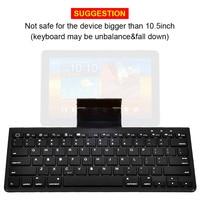 mini wireless bluetooth Mini Bluetooth Keyboard for Phone iPad for Smart TV Multimedia Hot Keys Wireless Keyboard for Android Tablet IOS Windows 7/8/10 (3)