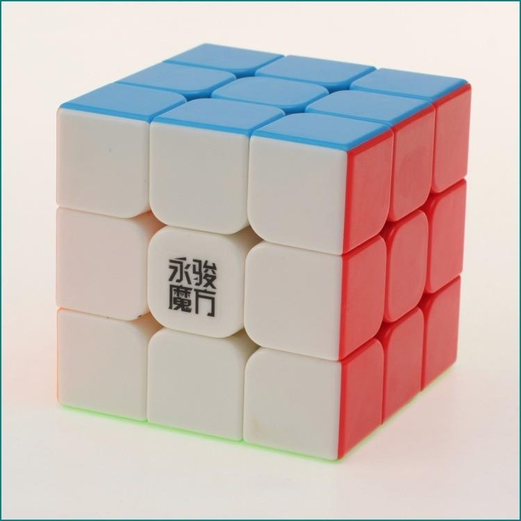 3x3x3 YJ Yongjun Magic Cube Speed Cubo Square Puzzle Cubes - Puslespill - Bilde 3