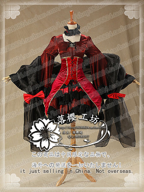 Fate:Rebirth Vocaloid Len Kagamine Cosplay Costume Gothic Luxury Dress Halloween Party Uniform Outfit Custom-made