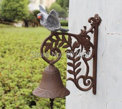 Aliexpresscom Buy Rusty Cast Iron Dinner Bell Peace Dove