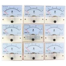 цена на AC Analog Current Meter Panel 1A 2A 3A 5A 10A 20A 30A Gauge Current Mechanical Ammeters 85L1