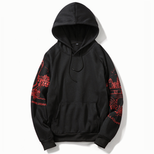 Cotton Print loose Mens  Hoodies Autumn 2019 Hoody Sweatshirts Men Hip Hop Fashion Casual Male Couple Wear