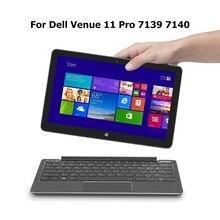 Alta Calidad Del Teclado de la Tableta Base Móvil Para Dell Venue Pro 11 7139 7140 Original Soporte Para Teclado de 10.8 pulgadas Para Tablet PC Dell