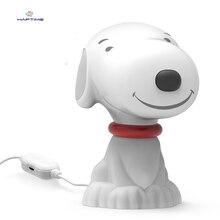 Haptime Notebook Desktop Computer Mini Speaker Mini Cartoon puppy Wired Stereo Speaker Multimedia Desktop Computer Speaker