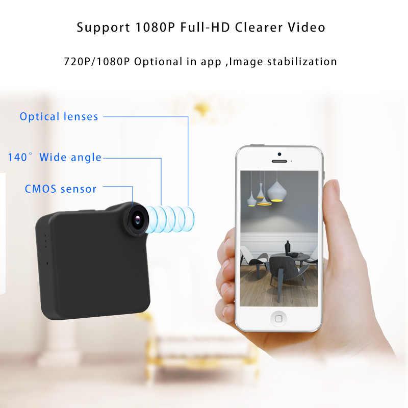 C1 زائد كاميرا البسيطة كاميرا 140 زاوية واسعة HD 720 P Wifi P2P IP صوت محس حركة مايكرو DV الرياضة سيارة الدراجة الجسم المغناطيسي كليب