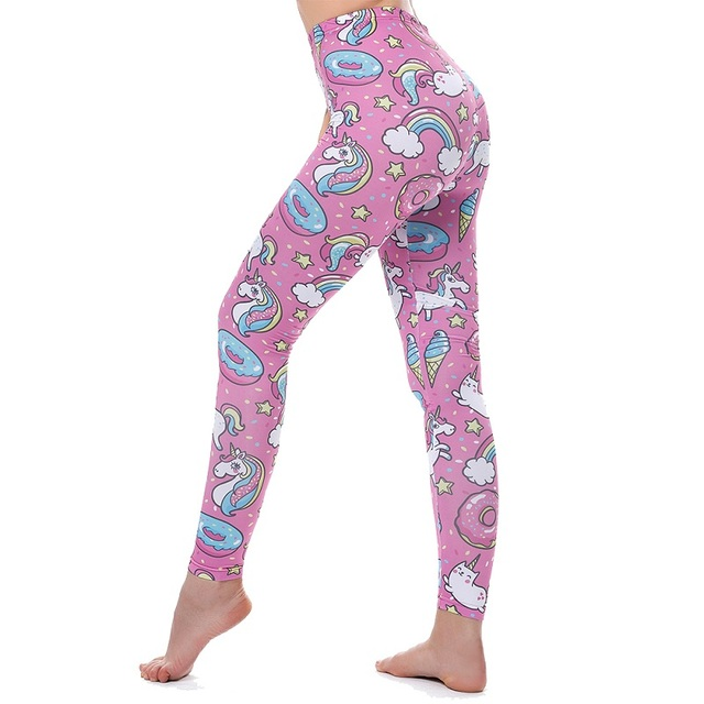 Fitness pants tights training unicorn / Pantalones Fitness mallas entrenamiento unicornio
