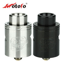 Original Wotofo The Troll RDA V2 Tank Two Adjustable Airflow 510 pin Wotofo Rebuildable Atomizer with pre-made  twisted coil
