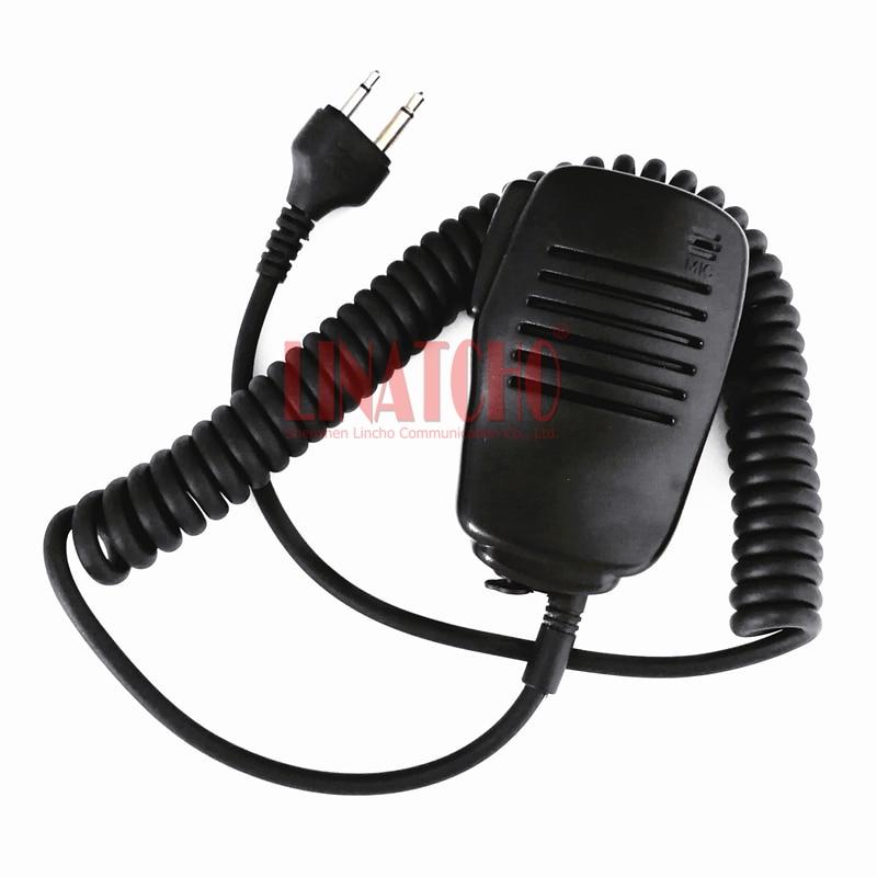 Small Portable Speaker Microphone Walkie Talkie IC-V82 IC-U82 IC-F20 IC-F11 IC-F21