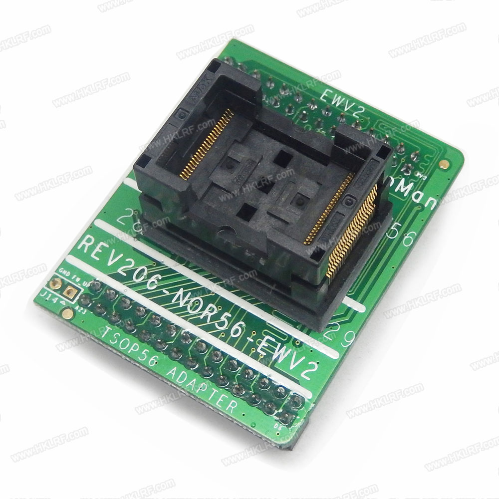 Image 2 - TSOP56 Adapter Socket For NAND ProMan TL86 PLUS Programmer FLASH REV206 NOR56 EW Free Shipping-in Integrated Circuits from Electronic Components & Supplies
