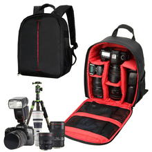 Video Photo Digital Camera Shoulders Padded Backpack Bag Case Waterproof Shockproof Small Bags for Canon Nikon DSLR IP-00