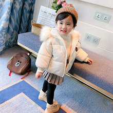 Xizhibao Little Cute Autumn Winter Coat Baby Girl Hooded