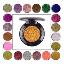 Glitter injections Pressed Glitters Single Eyeshadow Diamond Rainbow Make Up Cosmetic Glitters Eyeshadow Magnet Palette 1bag lot 0 3mm shiny glitters colored nail art glitters decorations graceful eyeshadow powder glitters cosmetic makeup tools
