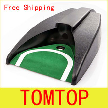 Golf Ball Kick Back Automatic Return Putting Cup Device Training Aid Free Shipping Wholesale