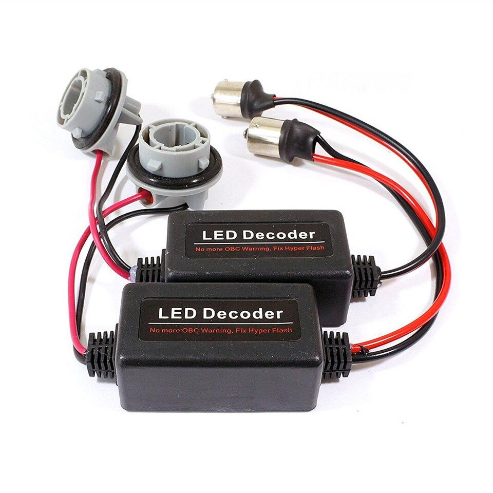 P21W BA15S 1156 LED Bulb OBC Warning Error Canceller Decoder Load Resistor x1