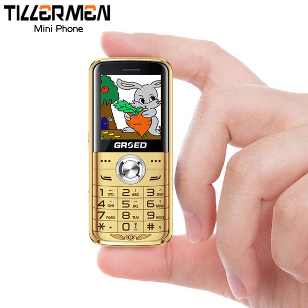 Цена за Дешевый Rungee Мини Телефон Функция Телефона Длительным Временем Ожидания MP3 Bluetooth GSM 900/1800 МГЦ 0.3MP Dual SIM Карты русский Язык