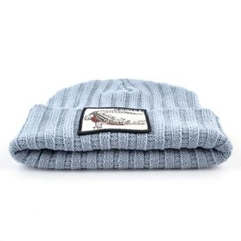 Fashion Skullies Beanies Men Women Knitted Wool Hats With Crocodile Patch Double Layer Knitting Bonnet Cap Unisxe Streetwear Hat 2