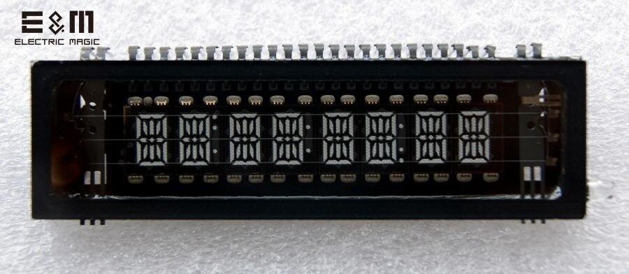 E&M 8x15 Bit VFD Module Screen Panel Diy Kit Graphical Lattice Suit For SCM Vacuum Fluorescent LCD Display