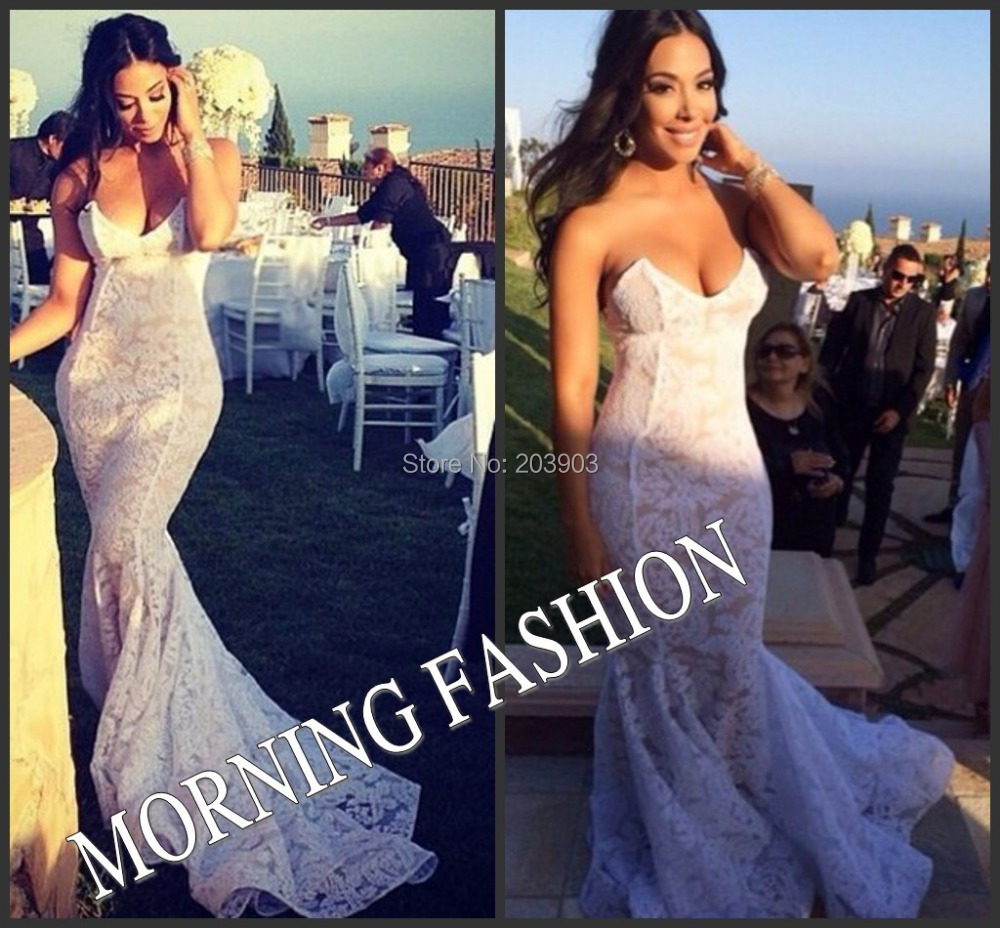 gallery nude wedding dress Dalida open neckline and backline two piece bridal dress evening gown silver