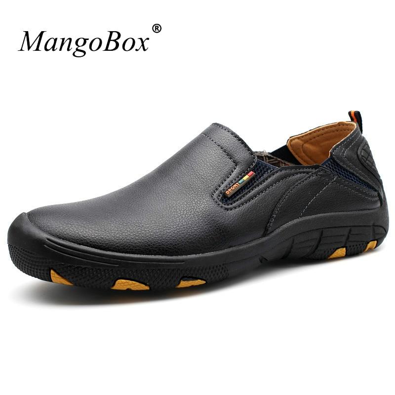 Trail Shoes Men Slip on Outdoor Men Shoes Blue Black Shoes Trekking Men Spring Summer Camping Sneakers For Men men