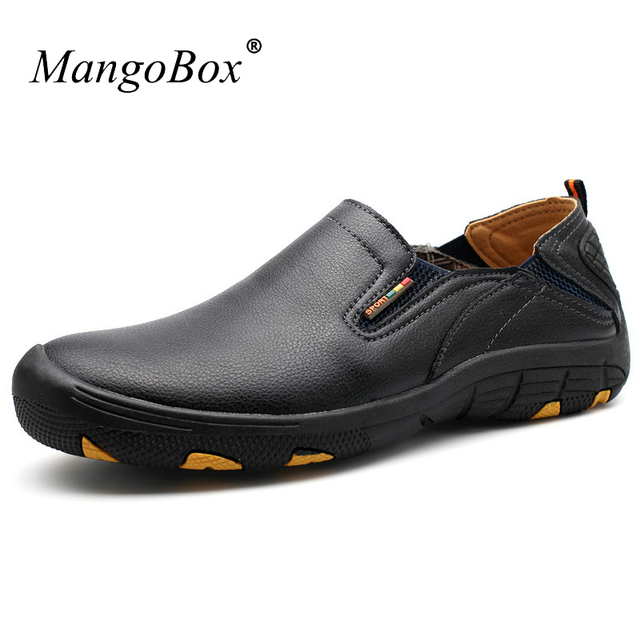 Trail Shoes Men Slip on Outdoor Men Shoes Blue Black Shoes Trekking Men Spring Summer Camping Sneakers For Men
