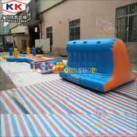 21*27m Large Inflatable amusement park team building equipment sea lake Floating Inflatable Water Park