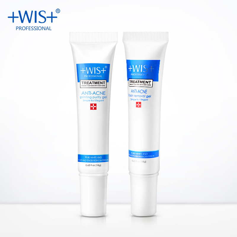 WIS Brand anti acne treatment removing gel  set Repair acne  reduce imprint relieve skin Beauty product free shipping