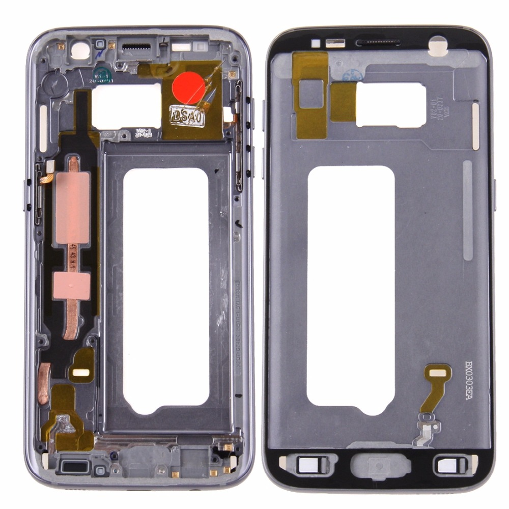 A iPartsBuy Front Housing LCD Frame Bezel Plate for Galaxy S7 / G930 image