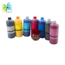 цена на Winnerjet bulk dye ink for Epson Stylus Pro 7600 9600 printer 1000ml/bottle