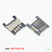 Clearance price New SIM Card Slot Holder Reader Tary Connector for Lenovo K860i A568t A788t K860I A3000-H A5000 tray slot