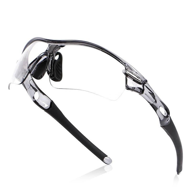 Lunettes polarisées photochromiques d'extérieur cyclisme coupe-vent vélo verre Anti-UV vtt vélo équitation cyclisme lunettes de soleil D0213