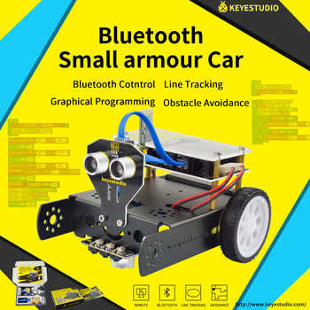 Keyestudio KEYBOT Programmable Education Robot Car Kit + User Manual For Arduino  Graphical Programming - DISCOUNT ITEM  0% OFF All Category